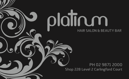 Platinum Business Card